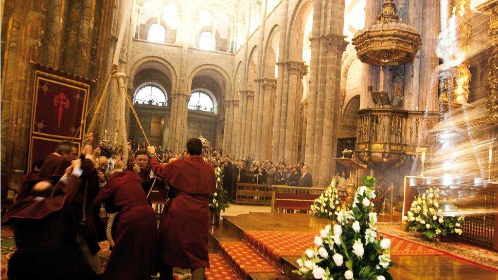 Misa del Peregrino en la Catedral de Santiago de Compostela :: Albergues del Camino de Santiago