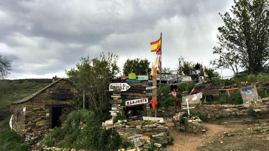 Albergue refugio de peregrinos Los Templarios, Manjarín, León - Camino Francés :: Albergues del Camino de Santiago