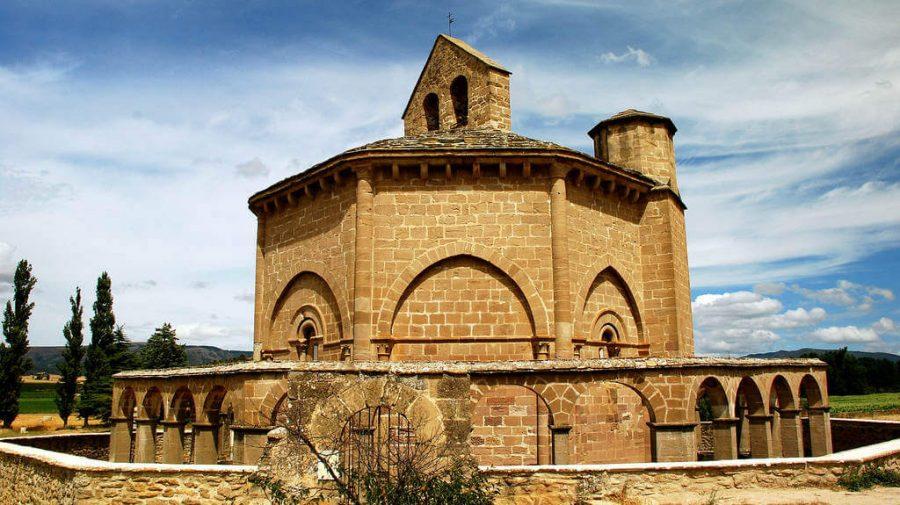 Santa María de Eunate, Muruzábal, Navarra :: Guía del Camino de Santiago