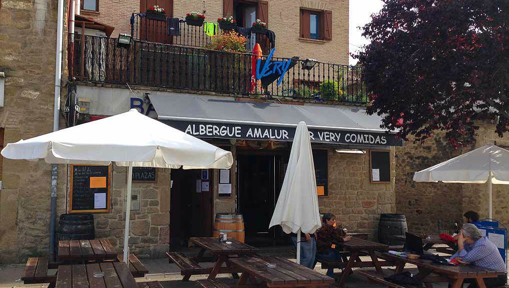 Albergue Amalur, Puente la Reina, Navarra :: Albergues del Camino de Santiago