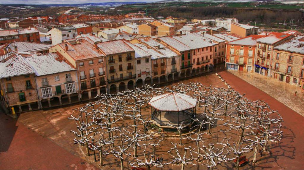 Plaza de Belorado, Burgos, Camino de Santiago