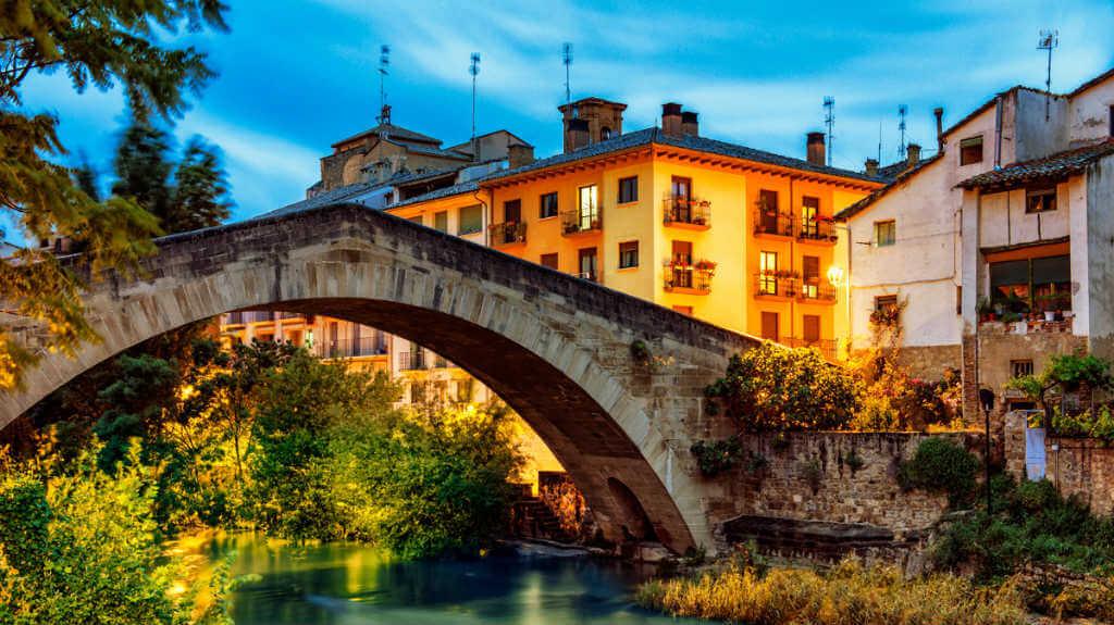 Puente Picudo, Estella, Navarra (Etapa de Estella a Los Arcos) :: Albergues del Camino de Santiago