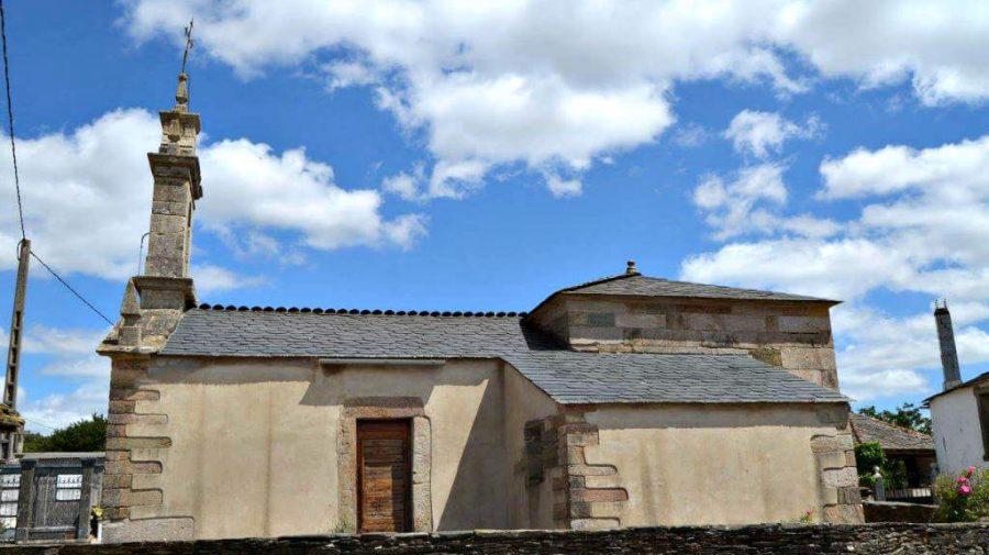 Iglesia de Santa María de Gonzar, Portomarín, Lugo, Camino Francés :: Albergues del Camino de Santiago