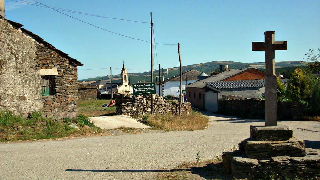 Vista de Gonzar, Portomarín, Lugo, Camino Francés :: Albergues del Camino de Santiago