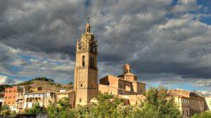 Los Arcos, Navarra - Torre de la iglesia de Santa María :: Albergues del Camino de Santiago