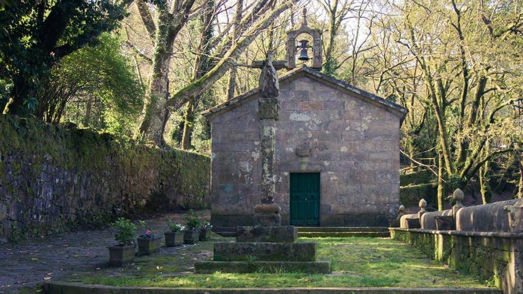 Capilla del Pazo de O Faramello, La Coruña :: Albergues del Camino de Santiago
