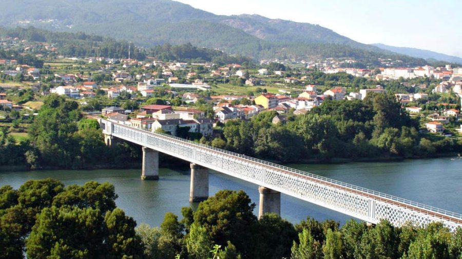 Puente internacional de Tui, Pontevedra - Camino de Santiago Portugués (Etapa de Tui a O Porriño) :: Guía del Camino de Santiago