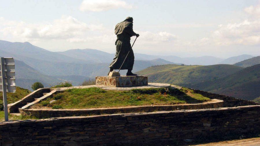 Alto do Poio, Lugo - Camino Francés (Etapa de Etapa O Cebreiro - Triacastela - a Samos) :: Guía del Camino de Santiago