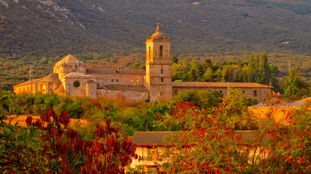 Monasterio de Irache, Navarra (Etapa de Estella a Los Arcos) :: Guía del Camino de Santiago
