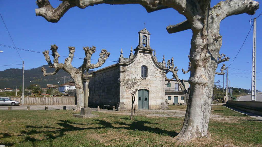 Capilla de A Virxe do Camiño, Rebordans, Tui :: Albergues del Camino de Santiago