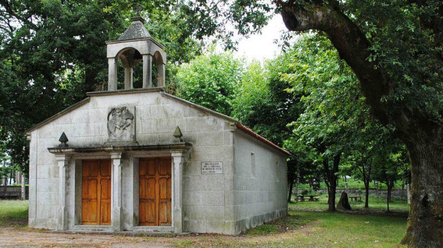 Capilla de Santiaguiño, Mos - Camino de Santiago Portugués (Etapa de O Porriño a Redondela) :: Guía del Camino de Santiago