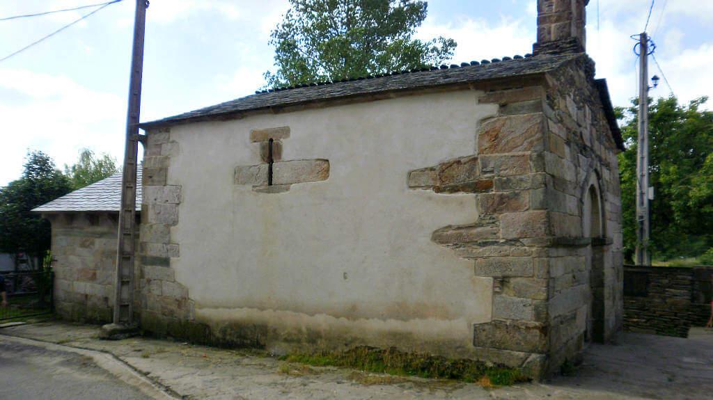 Iglesia de Santa María, Castromaior (Portomarín), Lugo :: Albergues del Camino de Santiago