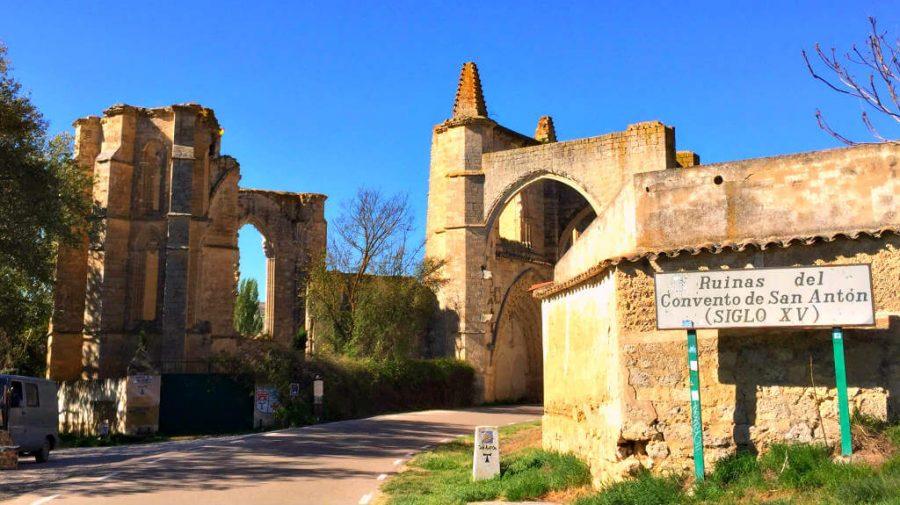 Convento de San Antón, Burgos - Camino Francés (Etapa de Hornillos del Camino a Castrojeriz) :: Guía del Camino de Santiago