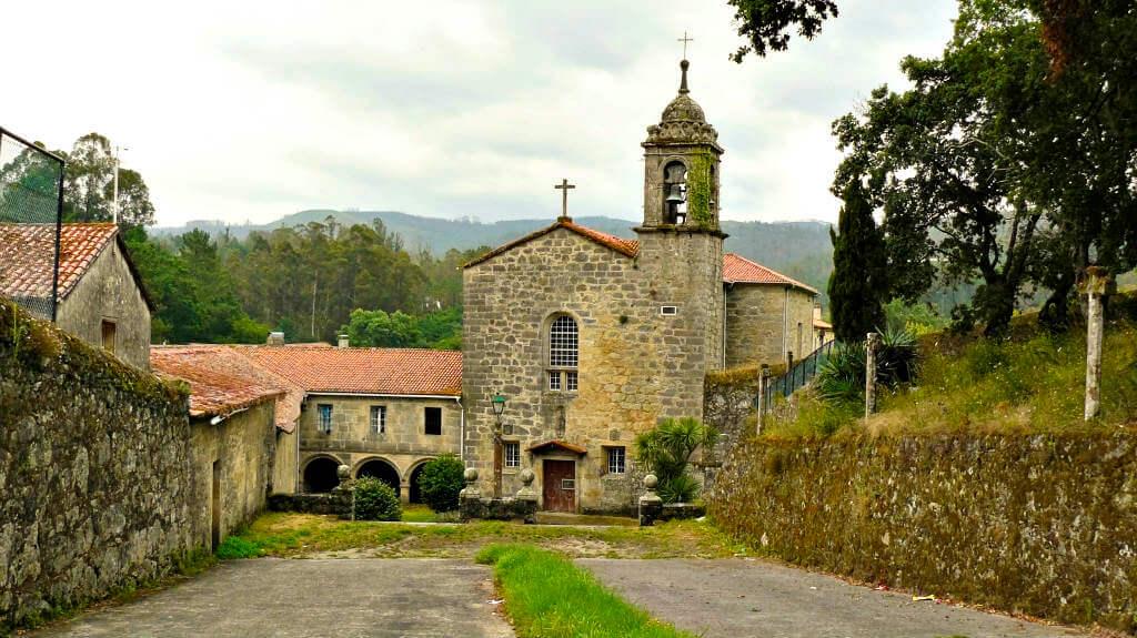 Convento de San Antonio de Herbón, Pontevedra :: Albergues del camino de Santiago