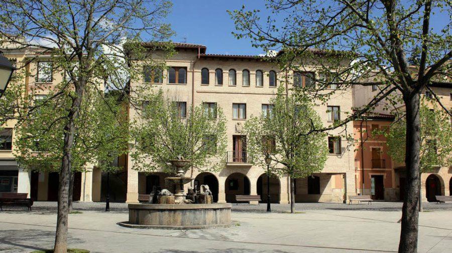 Plaza de Santiago, Estella :: Albergues del Camino de Santiago