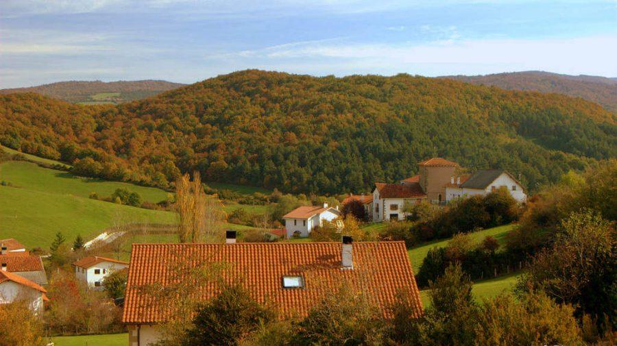 Lintzoain, Navarra - Camino Francés (Etapa de Roncesvalles a Zubiri) :: Guía del Camino de Santiago
