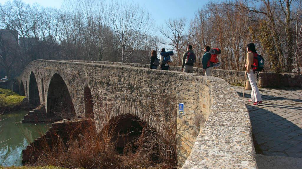 Puente de la Magdalena, Pamplona, Navarra (Etapa de Zubiri a Pamplona) :: Albergues del Camino de Santiago