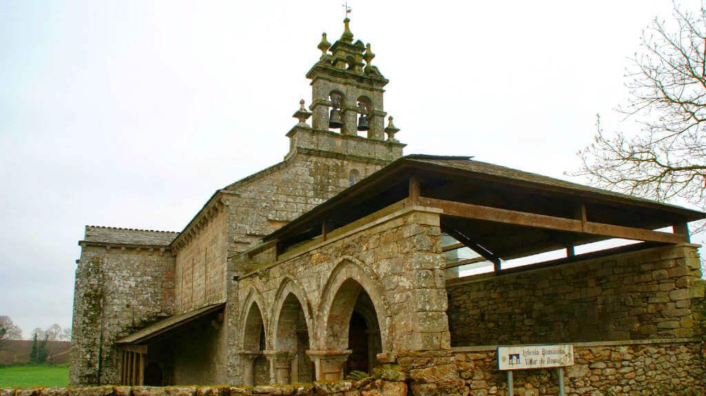 Iglesia San Salvador de Vilar de Donas, Portos, Lugo :: Albergues del Camino de Santiago