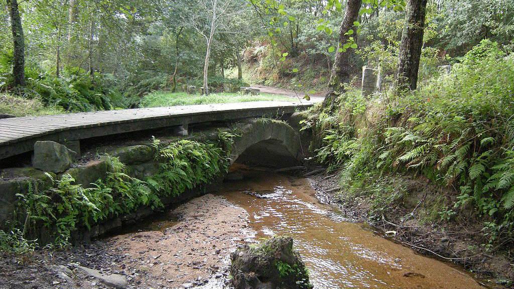 Ponte das Febres o Puente de San Telmo :: Albergues del Camino de Santiago