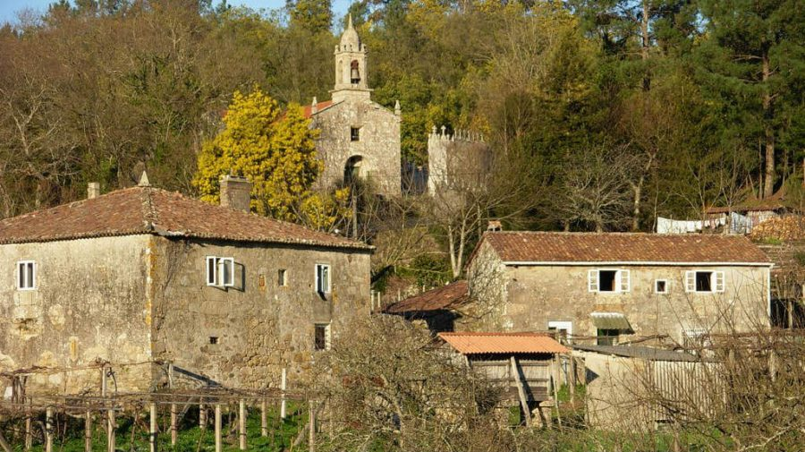 San Mamede de Portela, Pontevedra - Camino Portugués (Etapa de Pontevedra a Caldas de Reis) :: Guía del Camino de Santiago