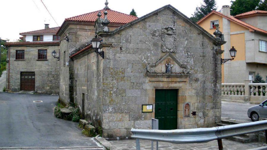 Iglesia de Santa María de Alba, Pontevedra - Camino Portugués (Etapa de Pontevedra a Caldas de Reis) :: Guía del Camino de Santiago