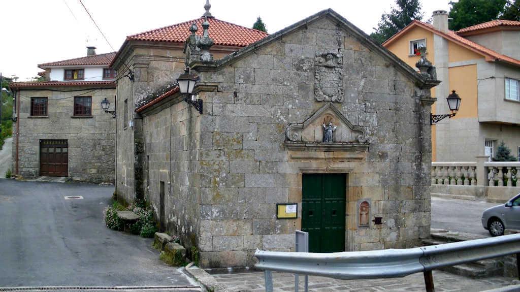 Ilgesia de Santa María de Alba, Pontevedra :: Albergues del Camino de Santiago