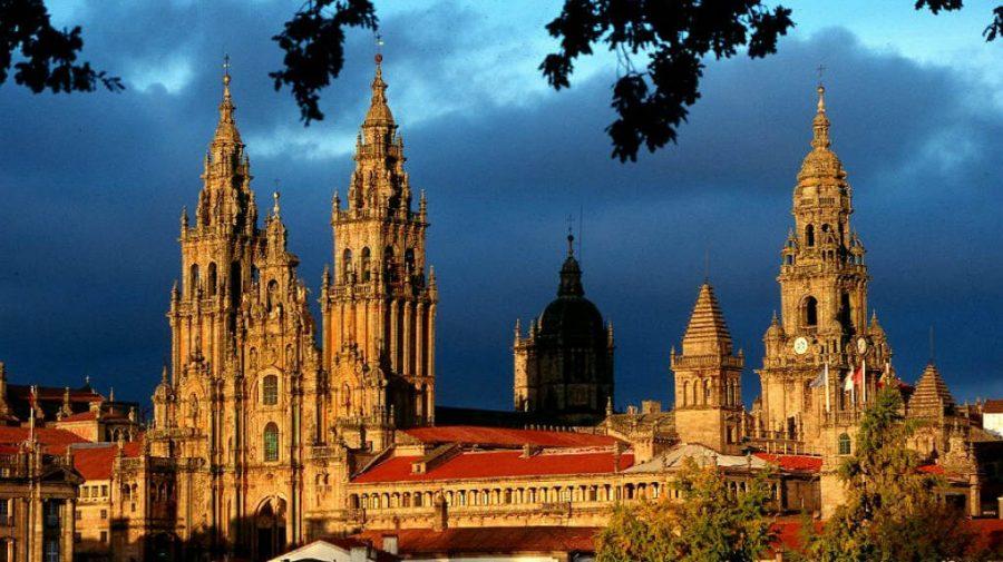 Torres de la Catedral de Santiago de Compostela :: Guía del Camino de Santiago