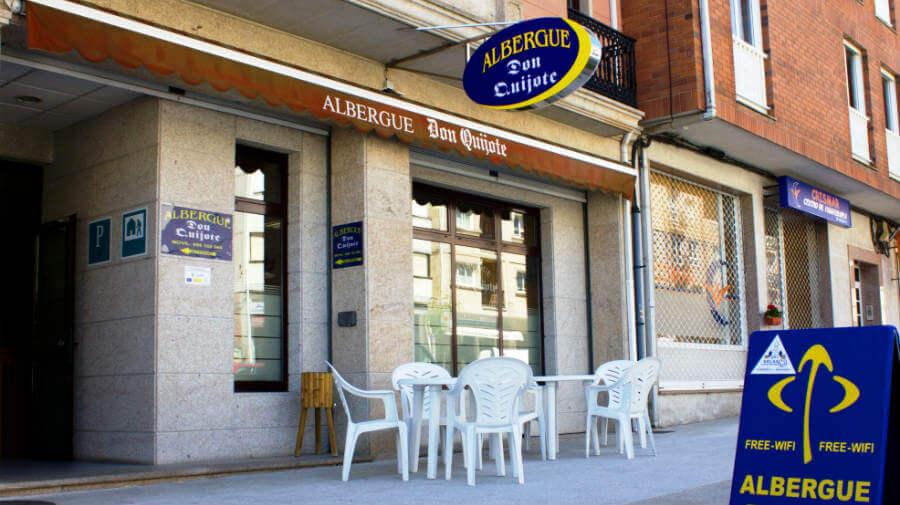 Albergue Don Quijote, Arzúa, La Coruña :: Albergues del Camino de Santiago