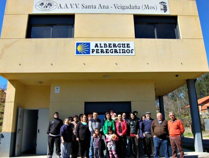 Albergue de peregrinos Santa Ana, A Veigadaña, Mos - Camino Portugués :: Albergues del Camino de Santiago