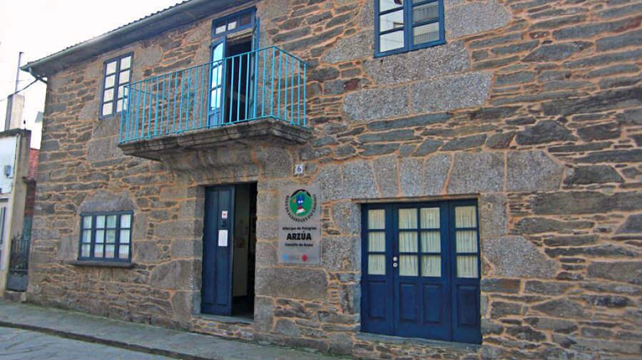 Albergue de peregrinos de la Xunta de Galicia, Arzúa, La Coruña - Camino Francés :: Albergues del Camino de Santiago