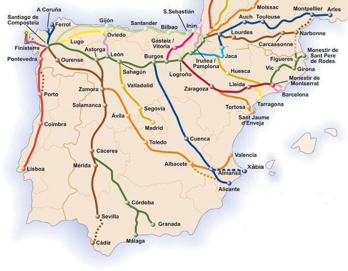 Caminos a Santiago :: Albergues del Camino de Santiago