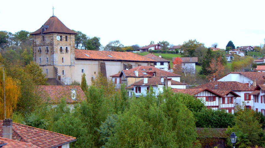 Espelette, Francia, Camino de Santiago Baztanés :: Albergues del Camino de Santiago