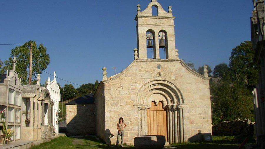 Iglesia de Santa María, Ferreiros - Camino Francés :: Albergues del Camino de Santiago