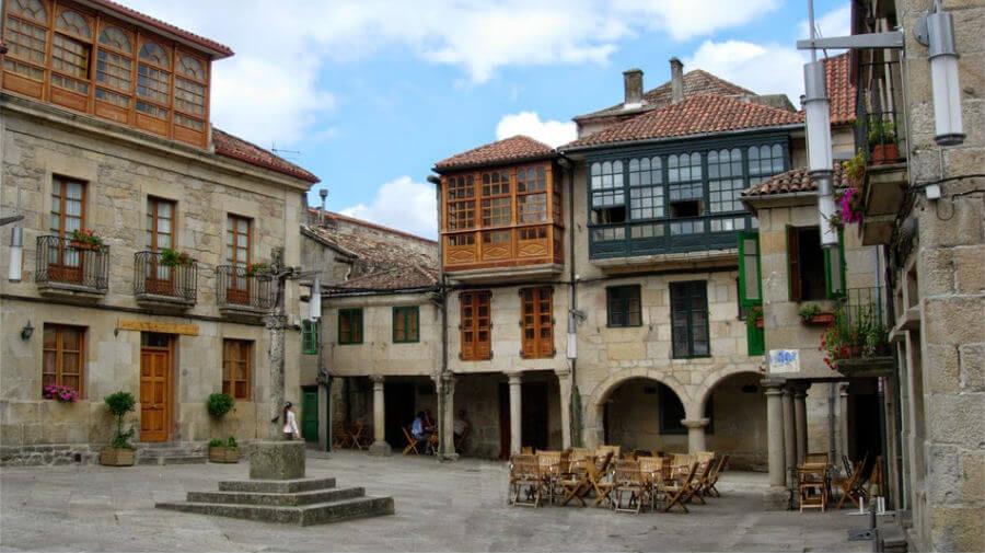 Plaza de la Leña, Pontevedra - Camino Portugués :: Albergues del Camino de Santiago
