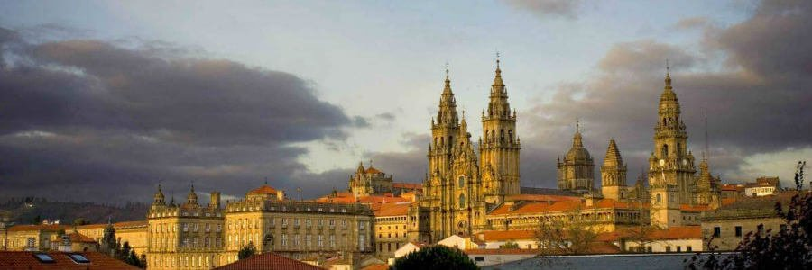 Vista de Santiago de Compostela :: Albergues del Camino de Santiago