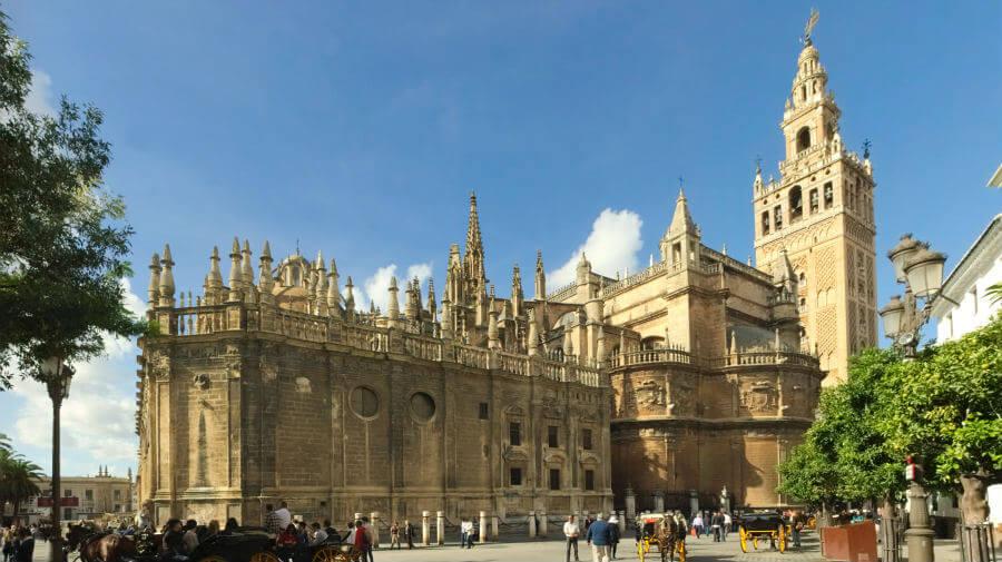 Catedral de Sevilla, punto de inicio de la Vía de la Plata :: Guía del Camino de Santiago