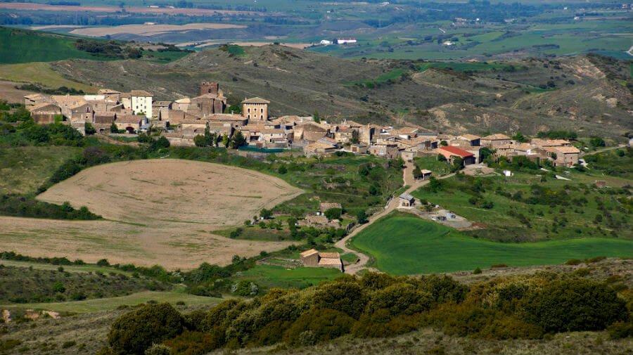 Undués de Lerda, Camino Aragonés :: Guía del Camino de Santiago