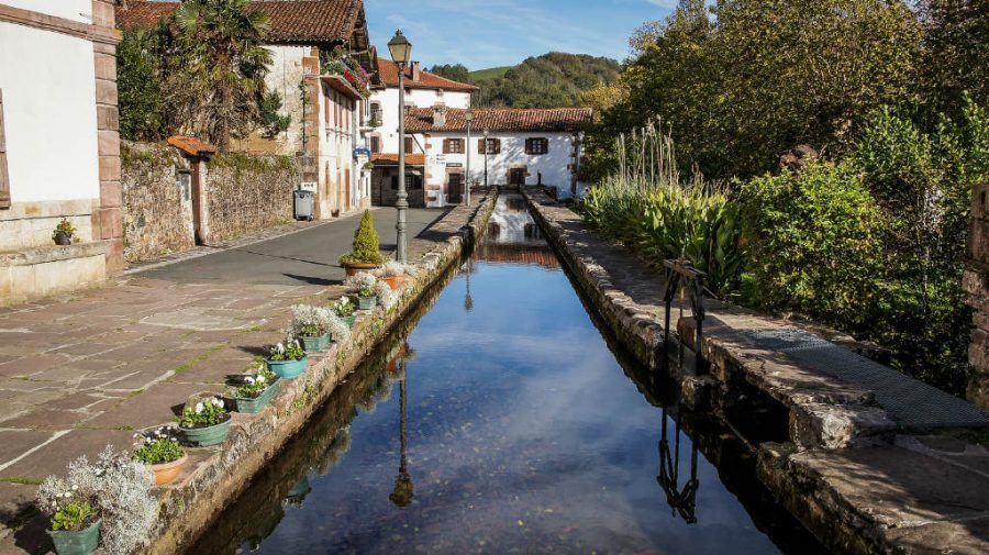 Molino de Urdax, Navarra :: Albergues del Camino de Santiago