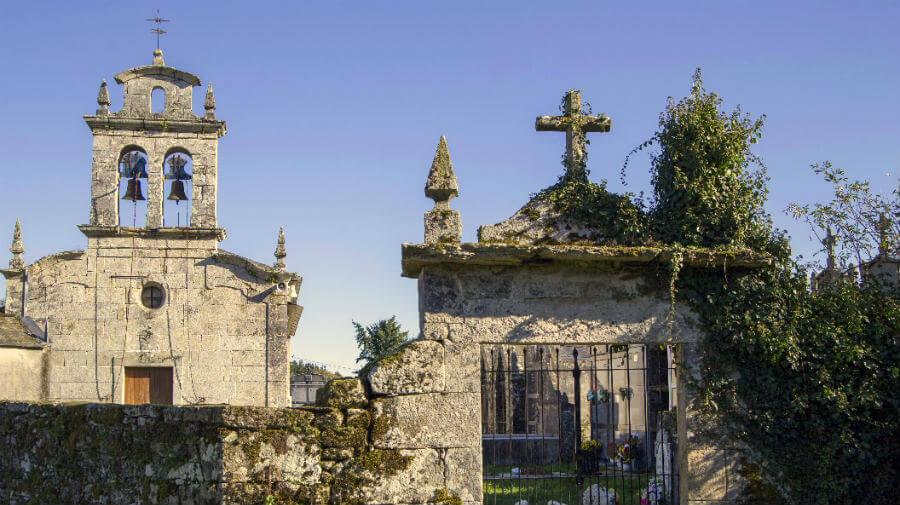 Iglesia de Vilachá, Lugo - Camino Francés :: Guía del Camino de Santiago