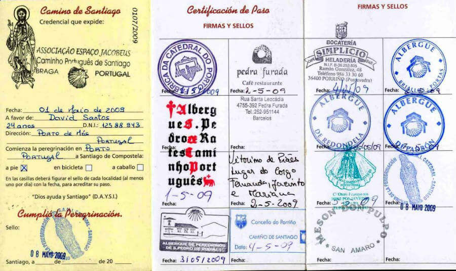 Credencial del Peregrino :: Albergues del Camino de Santiago