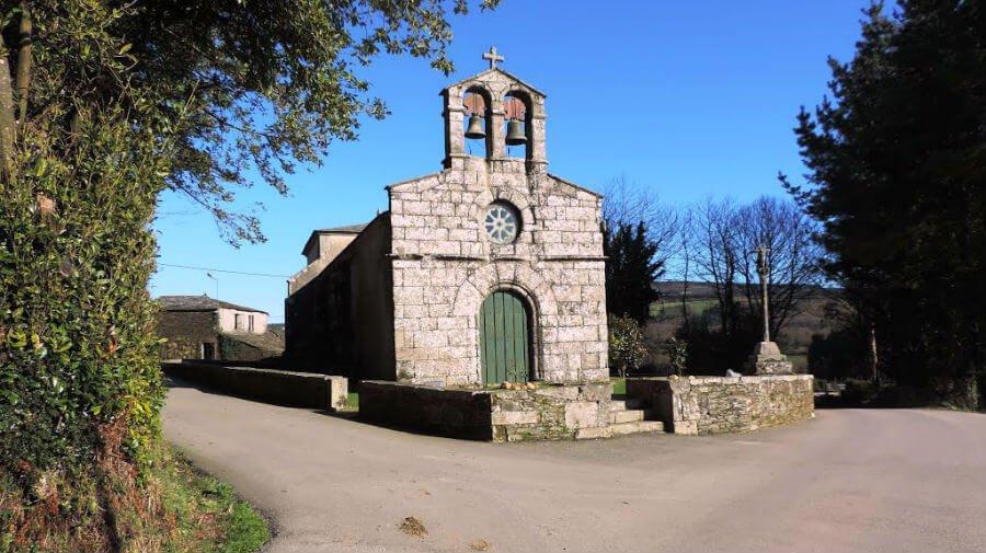 Iglesia de Santa María, Abadín - Camino del Norte :: Albergues del Camino de Santiago