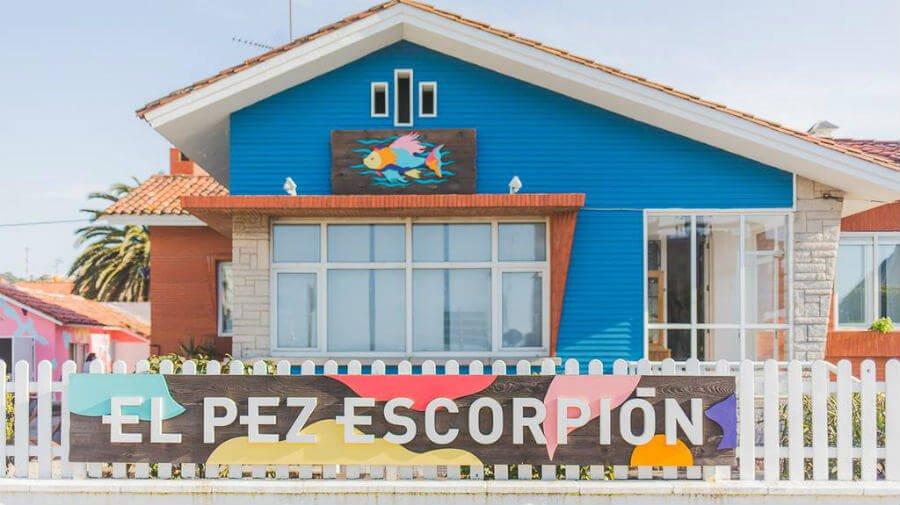 Albergue Beach Hostel El Pez Escorpión, Salinas - Camino del Norte :: Albergues del Camino de Santiago