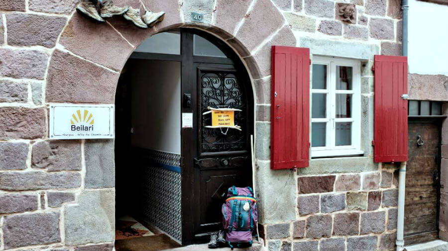 Albergue de peregrinos Beilari, Saint-Jean-Pied-de-Port, Francia :: Albergues del Camino de Santiago