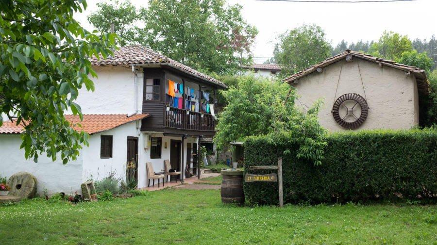 Albergue de peregrinos La Ferrería, Amandi (Villaviciosa) - Camino del Norte :: Albergues del Camino de Santiago