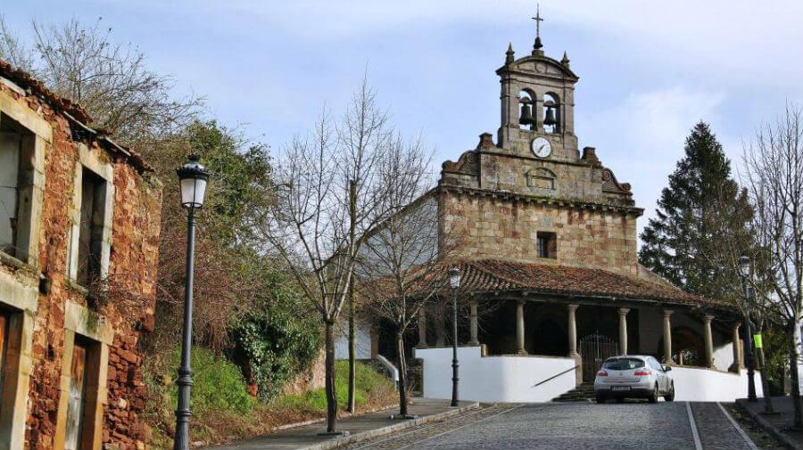 Iglesia de San Juan, Amandi (Villaviciosa - Asturias) - Camino del Norte :: Albergues del Camino de Santiago