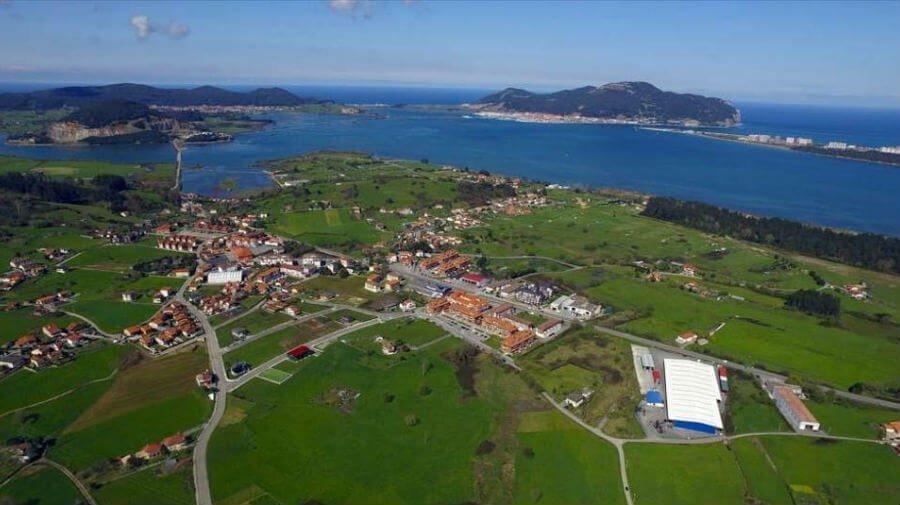 Vista de Bárcena de Cicero (Cantabria) - Camino del Norte :: Albergues del Camino de Santiago