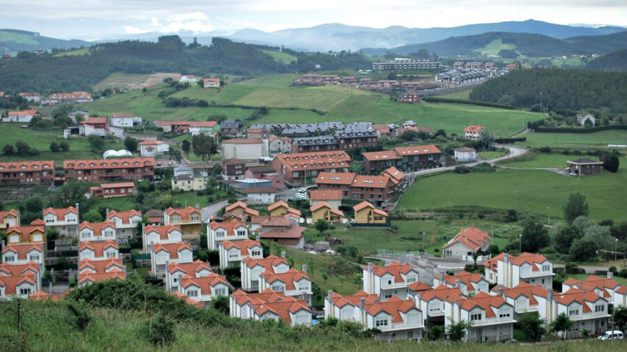 Vista de Boo de Piélagos (Cantabria) - Camino del Norte :: Albergues del Camino de Santiago