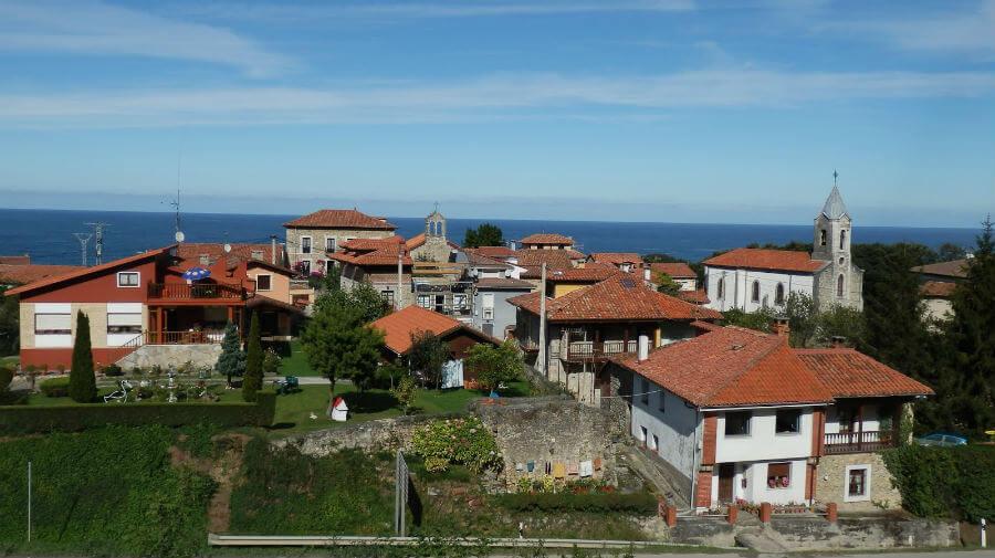 Vista de Buelna (Asturias - Camino del Norte) :: Albergues del Camino de Santiago