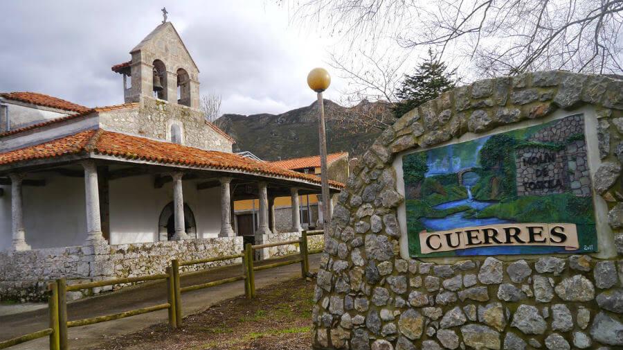 Cuerres (Ribadesella - Asturias) - Camino del Norte :: Albergues del Camino de Santiago