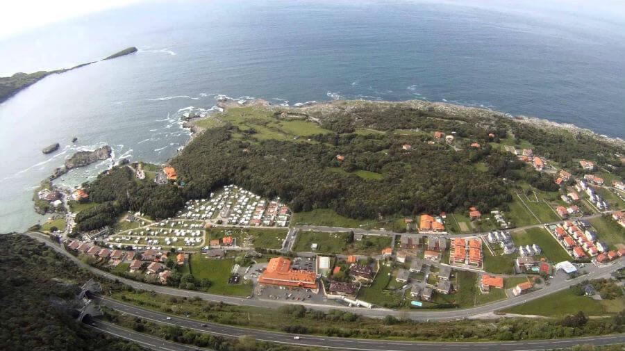Vista de Islares (Cantabria) - Camino del Norte :: Albergues del Camino de Santiago